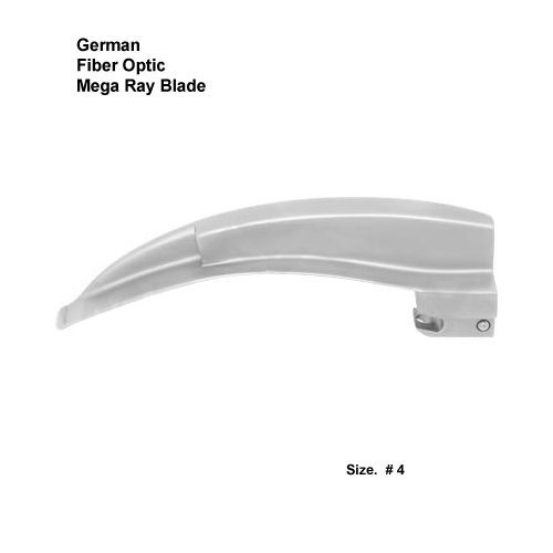 Fiber Optic German Mega Ray Blade # 4