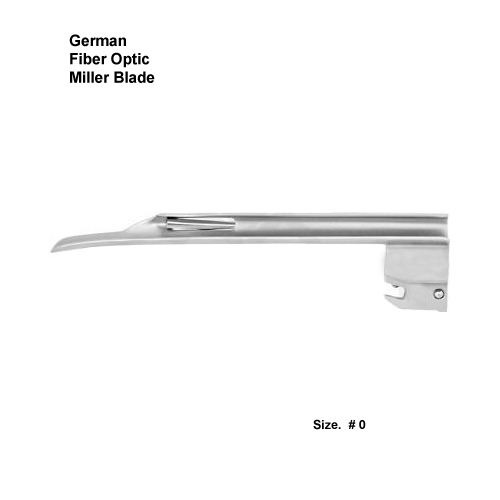 Fiber Optic German Miller Blade # 0