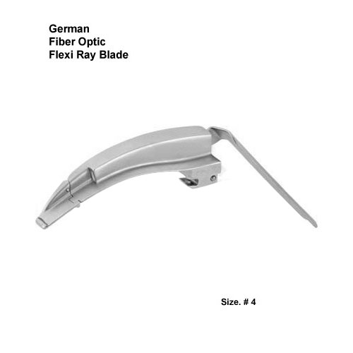 Fiber Optic German FlexiRay Blade # 4