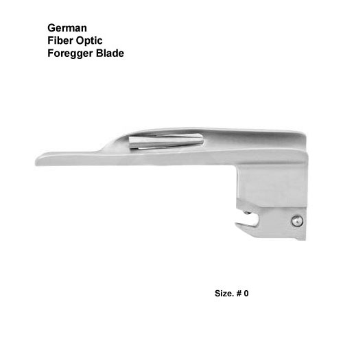 Fiber Optic German Foregger Blade # 0