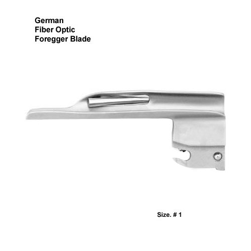 Fiber Optic German Foregger Blade # 1