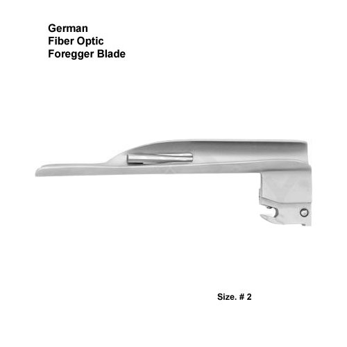 Fiber Optic German Foregger Blade # 2