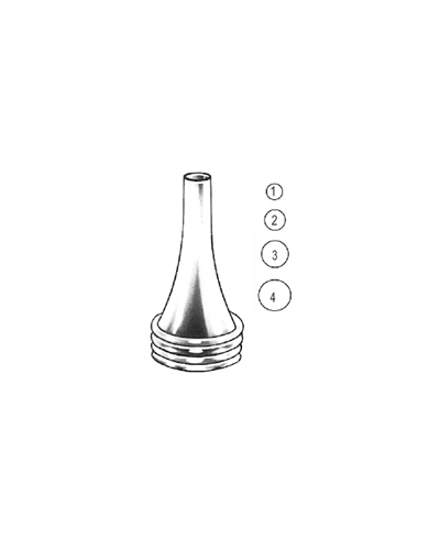 Politzer Ear Speculum 3mm~6.5mm set/4