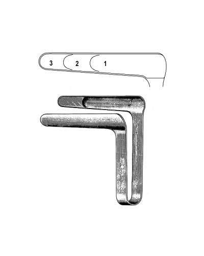 St. Clair Thomson Nasal Speculum 76mm, Fig.3