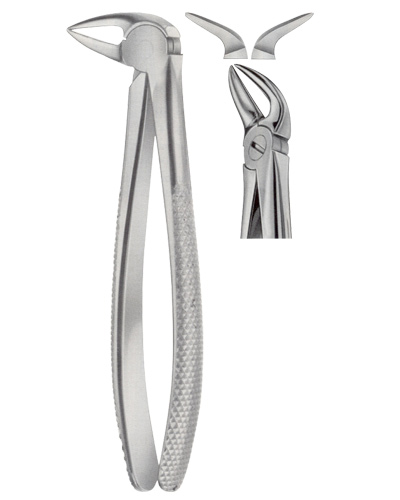 Tooth Forceps for Lower Roots Separating Forceps