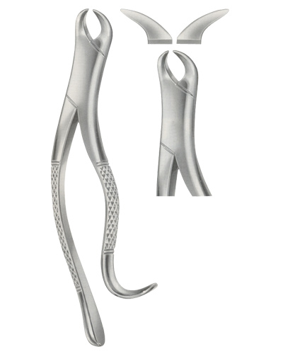 Tooth Forceps for upper incisor and Canines